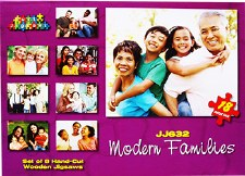 Modern Families - Set of 8