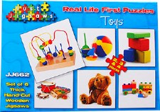 Real Life Puzzles Toys