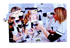 Optician and Patient Jigsaw