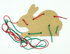 Lacing Board & Laces Rabbit