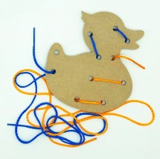 Lacing Board & Laces Duck