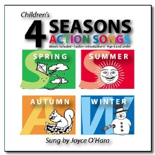 Children's CD's 4 Seasons