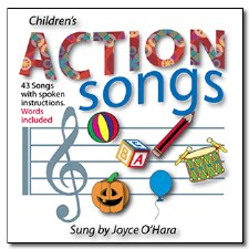 Children's CD's Action Songs