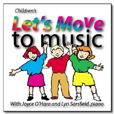 Children's CD's Move To Music