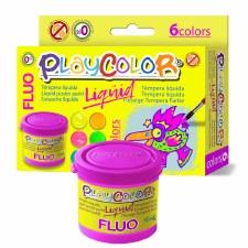 Liquid Flouresent Paint Set