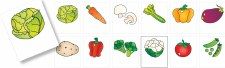 Magnetic Cards - Vegetable
