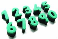 Numbers Sponges pk 10