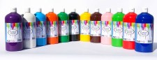 Poster Paint 1L - Set of 12