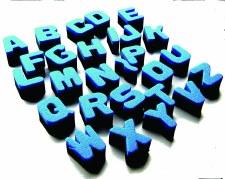 Alphabet Sponges U/C