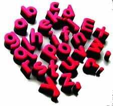 Alphabet Sponges L/C 1041