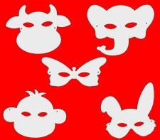 Masks - Animal Shape Set