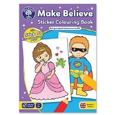 Make Believe Activity Book