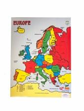 Map Of Europe Jigsaw