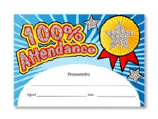 Award Certificates 100% Attn