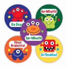 Irish Merit Stickers - Aliens