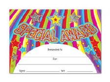 Award Certificate Sparkle
