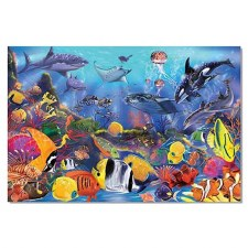 Floor Puzzle - Underwater