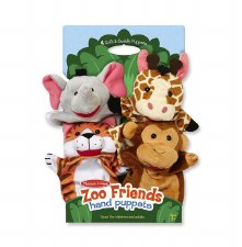Hand Puppets Zoo Friends (4)