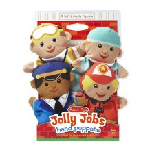 Hand Puppets Jolly Helpers (4)