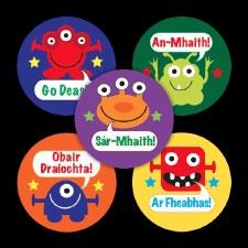 Merit Stickers Irish 'Aliens '