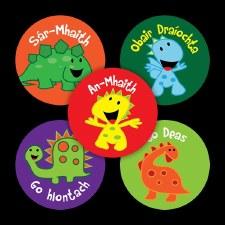 Merit Stickers Irish 'Dinos@