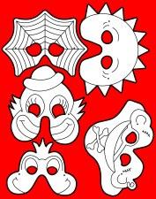 Masks - Printed Set