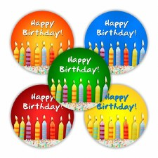Birthday - Badges