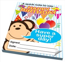 Birthday - Notes