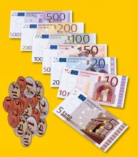 Magnetic Euro Money