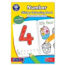 Numbers Activity Book