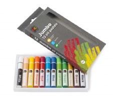 Jumbo Oil Pastels - Asstd (12)