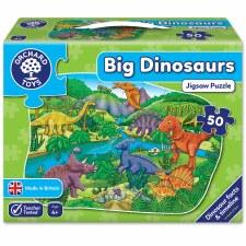 Dinosaurs Puzzle - 50 Piece