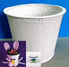 Paper Flower Pot