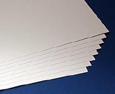A2 White Chartboard (10)