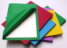 A4 Coloured Gummed Paper