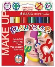 Playcolor Face Paints set 6