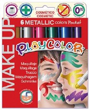 Playcolor Face Paint Metallics
