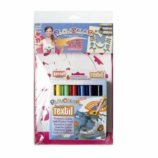 Playcolor Fabric Stencils 6