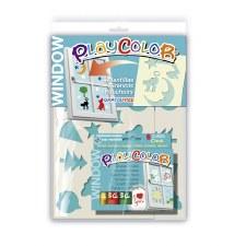 Playcolour Window 6 & Stencils