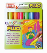 Playcolor Fluo Pocket Set (6)