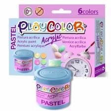 Acrylic Pastel Paint Set