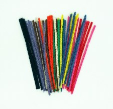Pipe Cleaners - Asstd Cols