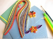 Quilling Paper Set