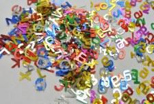 Letter / Number Sequins