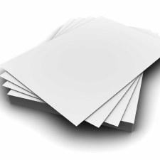 A4 White Card (50)