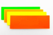 "Flash Cards - Fluo 12x4"" (50)"