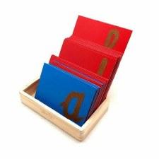 Sand Paper Letters LC Cursive