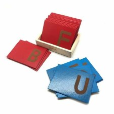 Sand Paper Letters UC