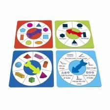 Shape Spinners set 4