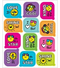 Smiley Face Stickers (72)